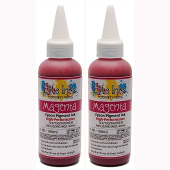 Elite Premium Japan Pigment Ink for Epson 100ml (Magenta)