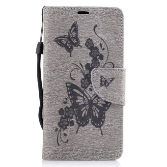 Embossed PU Leather Magnetic Flip Cover for for Samsung Galaxy J2 Prime G532 .