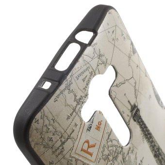 Embossed TPU Gel Case for Asus Zenfone 2 Laser ZE550KL ZE551KL - Paris .