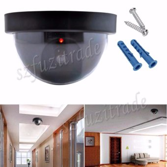 Emulational Fake Security IP CCTV DVR Camera Home Office Guard With Red Blinking