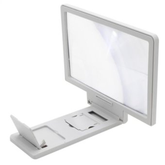 Enlarged Screen for Mobile Phones (White)
