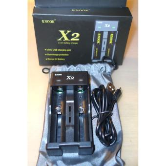 Enook X2 original Charger for 14500 16340 17500 18350 18500 18650 18700 Li-ion