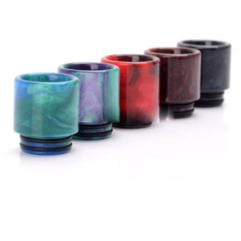 Epoxy Resin Drip Tip For SMOK TFV8 Cloud Beast / Wide Bore Goon Rda/ Kennedy24 - intl Price Philippines