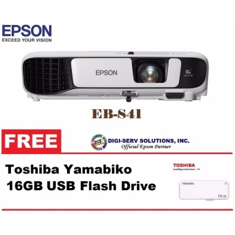 epson eb s41 3 300 ansi lumens svga 3lcd home business projector new model with free epson. Black Bedroom Furniture Sets. Home Design Ideas