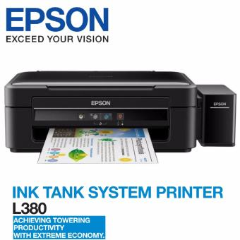 Shop Online Epson L380 Extreme Economy speed up to 10ipm Multi-Function InkTank Colored Printer (with Additional 2 black bottles bundled) -NEW EPSON ...