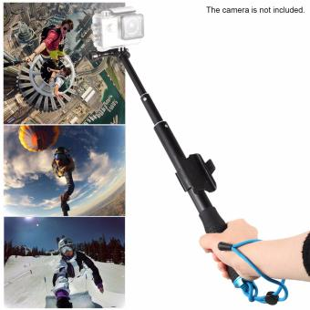 Extendable Handheld Tripod Monopod Adapter Self Stick with RemoteHolder Mount Screw for Go pro hero 5 4 3 Session Yi 4k SJCAM SJ4000Action Sport Camera Accessories - 5