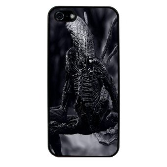 Extraterrestrial Pattern Phone Case for iPhone 5C (Black)