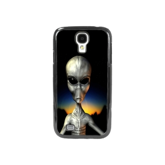 Extraterrestrial Pattern Phone Case for Samsung Galaxy S4 (Black)