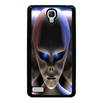 Extraterrestrial Pattern Phone Case for Xiaomi Redmi Note (Black) - picture 2