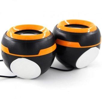 Ezeey Q5 Multimedia Speaker (Orange) - 2