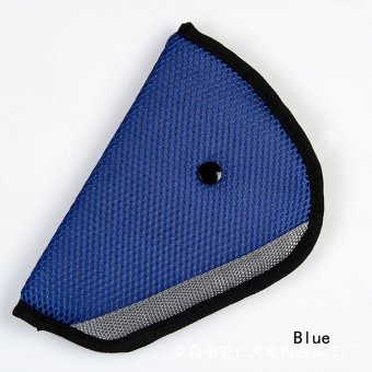 Fancyqube Child Car Seat Belt Holder Triangle CAR-0175 Blue Price Philippines