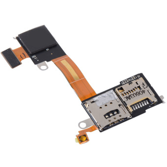 Fancytoy Micro SD&SIM Reader Module Flex Cable for Sony XperiaM2 D2303 D2305 D2306 - Intl
