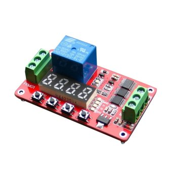 Fang Fang Self-locking PLC Delay FRM01 Multifunction 12V RelayModule Cycle Timer