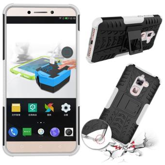 Fashion Heavy Duty Shockproof Dual Layer Hybrid Armor ProtectiveCover with Kickstand Case for Letv Le 2 X626 - intl - 2