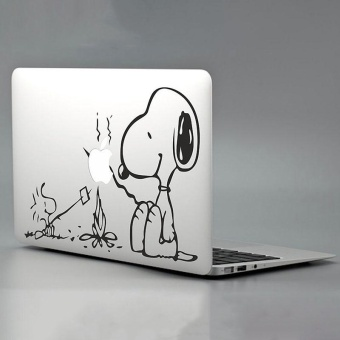 "Fashion SNOOPY Pattern Vinyl Decal Sticker For Macbook Air/Pro 11/13/15/17"" - intl Price Philippines"