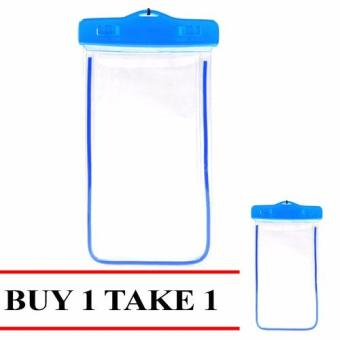 "Fashion Water Proof Case for 6"" Mobile Phones Buy 1 Take 1 Price Philippines"