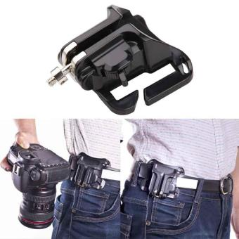 Fast Loading Holster Hanger Quick Strap Waist Belt Buckle ButtonMount Clip Camera Video Bags for Sony Canon Nikon DSLR Camera -intl