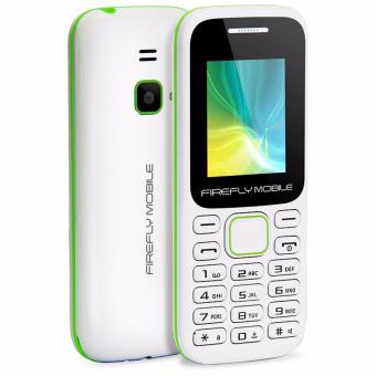 Firefly Mobile F1 (Compact Camera Phone, Dual-Sim, Hi- Capacity 600mAh Battery, Champion White) Price Philippines