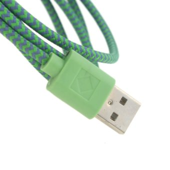 FIRSTSELLER USB Charger Cable Cord for iPhone 5 5C 5S 6 6+ 9.8ft (Dark Green) - picture 2
