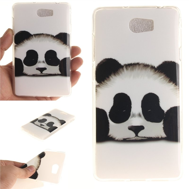 Fit Soft TPU Phone Back Case Cover For Huawei Y5II Huawei Y5 2 .