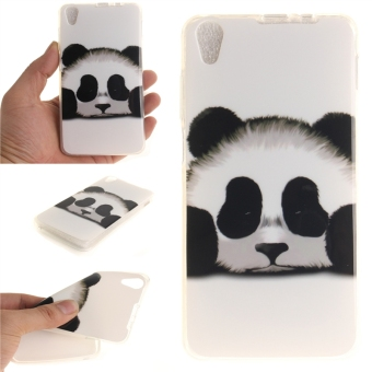 Fit Soft TPU Phone Back Case Cover For Lenovo S850 (Panda) - intl