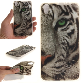 Fit Soft TPU Phone Back Case Cover For Lenovo S850 (Tiger) - intl