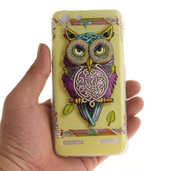 Fit Soft TPU Phone Back Case Cover For Lenovo Vibe K5 (ColorfulOwl) - intl - 5