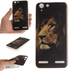 Fit Soft TPU Phone Back Case Cover For Lenovo Vibe K5 (Lion) - intl