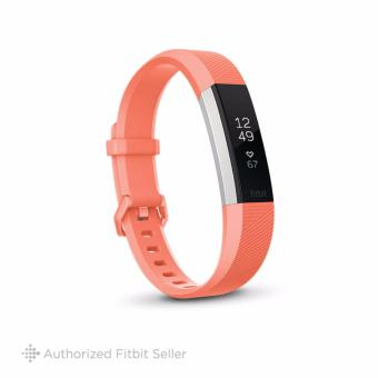Fitbit Alta HR Fitness Tracker, Small 14 cm - 17 cm - Coral