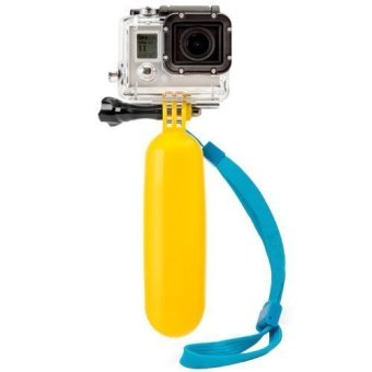 Floating Handle Mount Bobber for GoPro (Yellow)