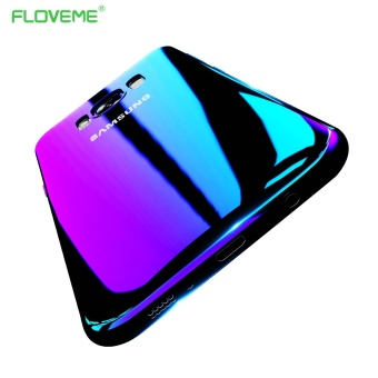 FLOVEME Blue Ray Gradient Case For Samsung Galaxy S8 Plus - intl