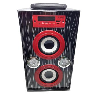FM/MP3 Radio Player with USB slot Wooden Speaker