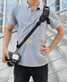 Focus SLR camera quick shoulder strap