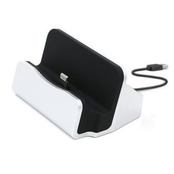 For Apple iphone 7 7plus 5s 5 se 6 6s 6plus 6s plus Desktop SyncDock charging base mobile Phone stand Holder - intl - 2