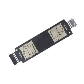 For ASUS Zenfone 5 A500CG A501CG T00J T00F Sim Card Slot Socket Holder Reader Flex Cable - intl
