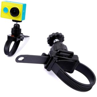 For GoPro Mount Zip-Tie Style Bike Motorcycle Handlebar Strap Mount for GoPro Hero 5 3 4 Session SJCAM SJ4000 SJ5000 Xiaomi Yi - intl