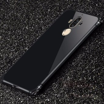 For Huawei mate 9 Ultra thin Case Luxury Plating Aluminum AlloyFrame Mirror Back Cover Phone Cases - intl Price Philippines