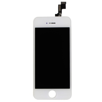 For iPhone 5S SE LCD Display Touch Screen Digitizer Assembly Replacement(White)- - intl