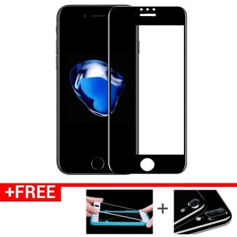 For iPhone7P Full Screen Tempered Glass Screen Protector for iPhone7 Plus (Black) Price Philippines