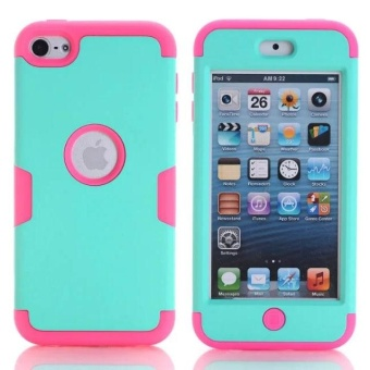 For iPod Touch 6 Shockproof Hybrid Armor Rubber Heavy Duty CaseCover For Apple iPod Touch 5 - intl