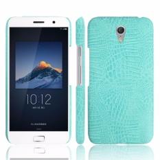For Lenovo Vibe P1M P1MA40 P1MA50 Crocodile PU Leather Skin HardPlastic Back Cover Phone Bag Case