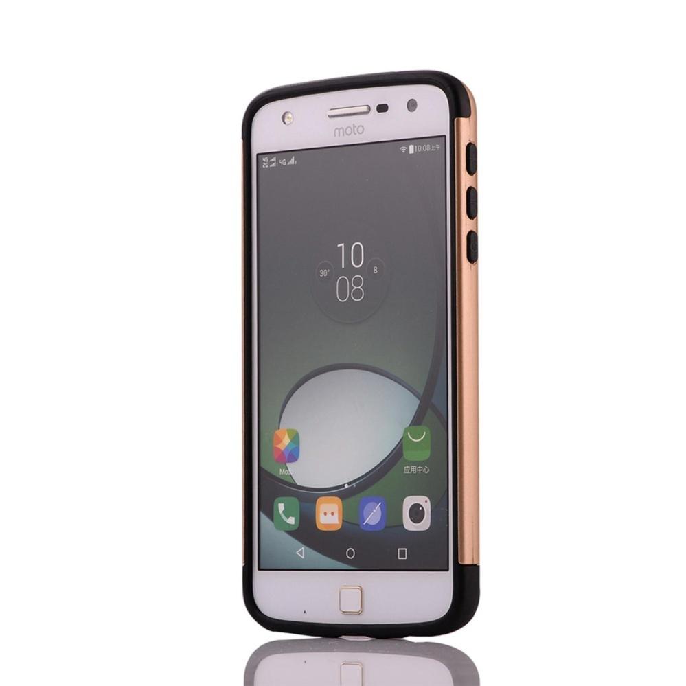 ... for Motorola MOTO Z Play [Split Joint] PC + TPU Hybrid Cell PhoneBack Case ...