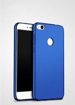 For Redmi 4X Soft Silicone Fingerprint-proof Phone Case with HDAnti Blue-Ray Eye Tempered Glass/ Sweatproof Protective Back Coverfor Xiaomi Redmi4X - intl - 4