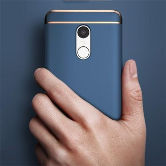 For Redmi Note 4 Hybrid 3 in1 Case Hard Plastic/PC matte Phone Case soft silicone/ TPU Phone Cover Shockproof Phonecase /Phone Protector for Redmi Note 4/ Redmi Note4/RedmiNote4/Red mi Note 4/redmi note4 - intl - 4