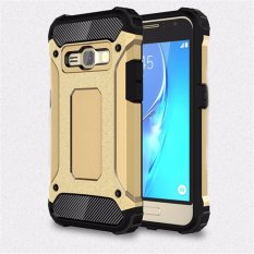 for Samsung Galaxy J1(2016) & J120 [Steel Armor] 2in1 CarbonFibre Premium