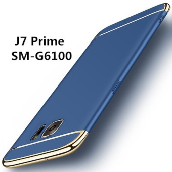 For Samsung Galaxy J7 Prime Hybrid 3 In1 Phone Case with 2Pcs HDTempered Glass/ Hard Plastic/PC Matte Protective Back CoverFingerprint-proof Phone Shell for Galaxy J7Prime - intl - 3