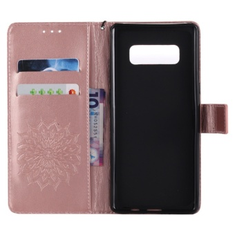 for Samsung Galaxy Note 8 Case Cover - Classic Fashion Style WalletFlip Stand PU Leather Mobile Phone Case - intl - 5