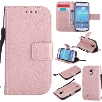 for Samsung Galaxy S4 mini / i9190 Case Cover - Classic FashionStyle Wallet Flip Stand PU Leather Mobile Phone Case - intl