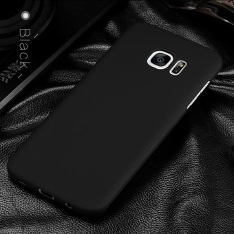 For Samsung Galaxy S6 Edge Plus Full Body Hard PC Smooth Grip BackCase Cover (Black) - intl - 3