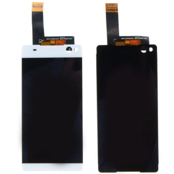 For Sony Xperia C5 Ultra LCD Display Touch Screen Digitizer Assembly (White)- - intl